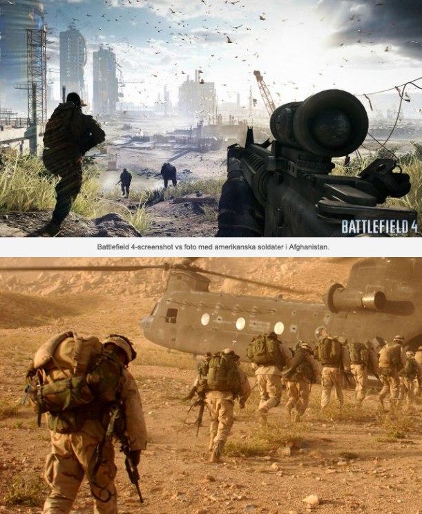 Battlefield 4 vs Afghanistan